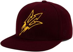 new product bc3bd c25b7 Top of the World Arizona State Sun Devils Extra Logo Snapback Cap   Reviews  - Sports Fan Shop By Lids - Men - Macy s. New Era ...