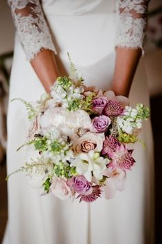 Early summer bridal bouquet with freesias and stock Perfect Wedding, Dream Wedding, Wedding Day, Wedding Bouquets, Wedding Flowers, January Wedding, Wedding Reception Decorations, Reception Ideas, Wedding Receptions