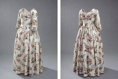 Engelsk kjole, 1780'erne