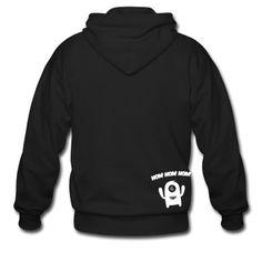Veste à capuche Nom Nom Nom Monstre #cloth #cute #kids# #funny #hipster #nerd #geek #awesome #gift #shop Thanks.