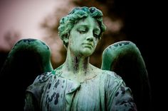 """Every Time I See an Angel I Think of You      Someone else wrote the first part of the description and it made me laugh :)  Because anytime I see any sort of stone statue I think """"DON'T BLINK""""!!!!!"""