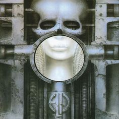 hr giger: album art for 'brain salad surgery' by emerson lake and palmer. thanks, dad for the intro to prog and giger