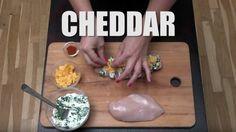 Nevíte, co vařit kobědu? Zkuste tohle skvělé nadívané kuře, zvládne ho izačátečník! Cheddar, Cheddar Cheese
