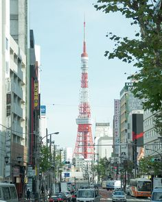 Tokyo Tower - from Roppongi Intersection, via Flickr.