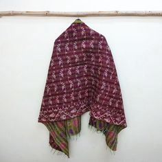 New Oversized Silk Kantha Scarf Head Wrap Stole Dupatta Collar Neckerchief Scarves