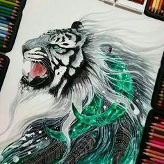 Watercolour pencils Jonna Scandy Girl