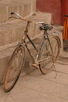Old Bike by Sunanda Chandry Koning, via Flickr