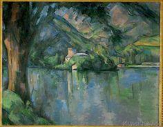 Paul Cézanne - Lac d'Annecy