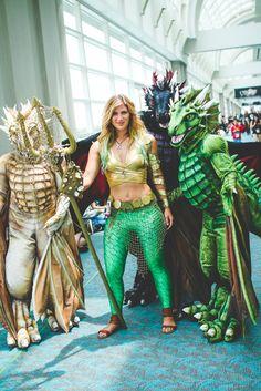 #Cosplay - Aquaman #Rule63 at Comic Con 2014