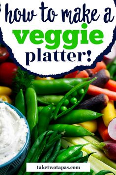 The Easiest Crudité Tray can be put together in less than 10 minutes for a stress-free holiday party! Love eating veggies? Wish you could throw together a vegetable tray that is crowd pleasing and will wow all your friends and family? Check out all these tips for putting together a great tray of veggies for any party or even just afternoon snacking with the kids! #crudite #platter #dip #display #board #vegetable #CruditéTray #CruditéPlatter #veggietray Crudite Platter, Veggie Platters, Veggie Tray, Party Trays, Party Platters, Vegetable Tray Display, Love Eat, Easter Dinner, Afternoon Snacks