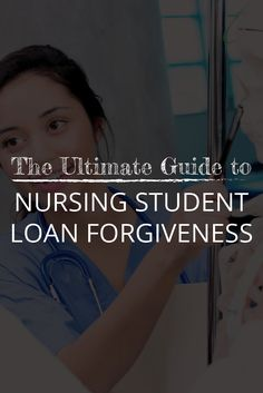 If you have student loan debt from a nursing degree, check out this post to learn more about nursing student loan forgiveness options. Apply For Student Loans, Student Loan Payment, Federal Student Loans, Paying Off Student Loans, Loan Repayment Schedule, Loan Money, Student Loan Forgiveness, Loans For Bad Credit, Nursing Students