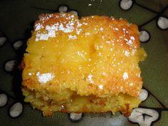 Warm Lemon Pudding Cake (we liked it better cold).   http://mandysrecipebox.blogspot.com/2012/01/warm-lemon-pudding-cake.html