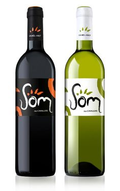 SOM, wine of Bodegas Galmés i Ribot in Mallorca. Designed: ON ACCENT