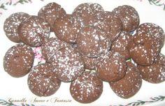 Biscotti con farina di farro integrale al cacao senza uova e burro
