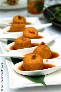 Silken Tofu with Ginger Dressing at Naga