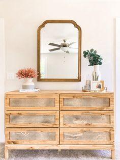 Ikea Tarva Dresser, Ikea Hack Nightstand, Pine Dresser, Flur Design, Diy Design, Diy Casa, Ideias Diy, My New Room, Diy Home Decor