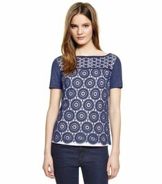 Tory Burch MARGAUX TOP