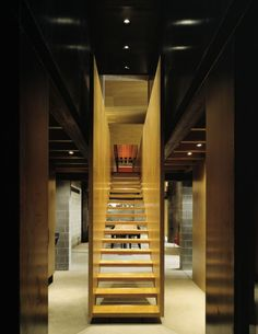 Stairs : Amazing house in Northern Idaho, USA by Olson Kundig Architects displayed on Blogyarq