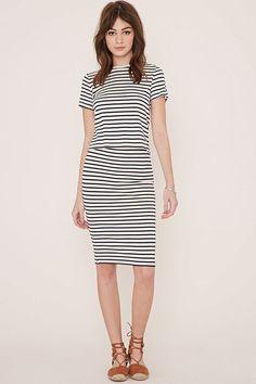 Stripe Zipped Top