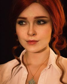 Triss Cosplay by Ilona Bugaeva #TheWitcher3 #PS4 #WILDHUNT #PS4share #games #gaming #TheWitcher #TheWitcher3WildHunt
