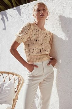 Let This ASTR The Label Spring Collection Wow You Shoulder Cut Out Sweater, Fashion Essentials, Cool Sweaters, Fashion Labels, Spring Collection, Stylish Dresses, Fashion Brand, Summer Outfits, Clothes For Women