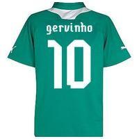 2012-13 Ivory Coast Away Shirt (gervinho 10)