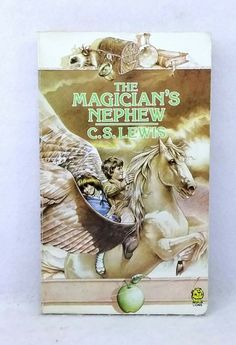 The Magician& Nephew by C. Lewis vintage used illustrated paperback Narnia The Magicians Nephew, Last Battle, British Literature, Cs Lewis, Chronicles Of Narnia, Chapter Books, Book Collection, Fiction, Barbie