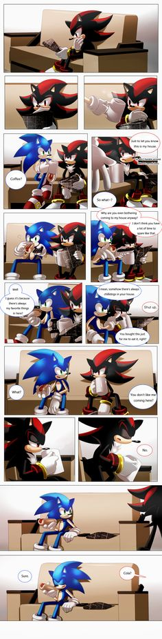 daily life _translated by Syesye996 Can this be canon? I'd like to see this in Sonic Boom!!!