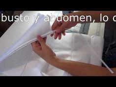 Varillas y Copas para confeccion. 3. costura canal - YouTube