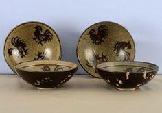 Chinese Set of Stoneware Bowls