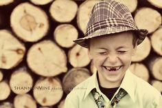 what a grin