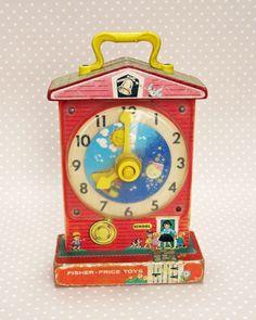 Fisher Price Clock 1960s