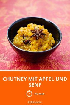 Chutney mit Apfel und Senf - smarter - Zeit: 25 Min. | eatsmarter.de