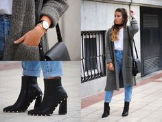 Claudia V. - Playing with Black Accessories