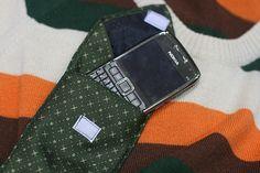 Roberta Crochê e Cia: Passo-a-passo - Porta celular de gravata