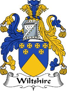 Wiltshire family crest