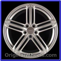OEM 2007 Audi A3 Rims - Used Factory Wheels from OriginalWheels.com