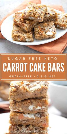 Low Carb Deserts, Low Carb Sweets, Healthy Sweets, Low Carb Bars, Keto Bars, Ketogenic Desserts, Keto Snacks, Keto Cookies, Cookies Et Biscuits