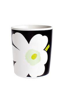 Unikko mug by Marimekko Finland Marimekko, Mid Century Modern Kitchen, Scandi Style, Home Decor Items, Fashion Prints, Textile Design, Finland, Mid-century Modern, Home Goods