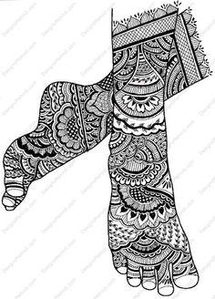 Bridal mehndi,mehndi design,mehndi henna,mehndi designs for hands,easy mehndi: Stylish Arabic Mehndi Designs For Feet – Arabic Henna Designs...
