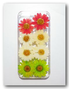 Handmade iPhone 5/5s case Resin with Real  Flower by Annysworkshop, $18.00