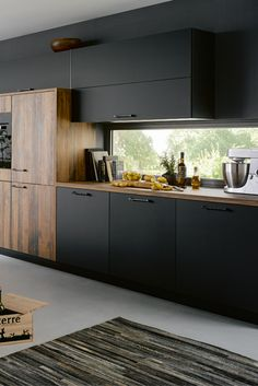 Plan kitchen with all-round carefree service at Spitzhüttl Home Company Kitchen Ikea, Ikea Kitchen Design, Kitchen Cabinet Design, Modern Kitchen Design, Kitchen Layout, Home Decor Kitchen, Interior Design Kitchen, Kitchen Furniture, Kitchen Cabinetry