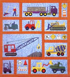 - Under Construction Quilt Pattern - at The Virginia Quilter