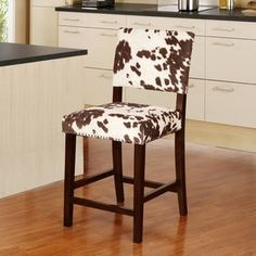 Shop For Linon Holcombe Stationary Counter Stool Plush Cow Print Seat U0026  Back. Get Free · Teen FurnitureFurniture DecorHouse ...