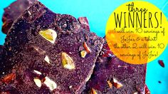 Enter to Win Paleo Friendly Chocolate Bark!