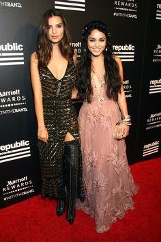Pin for Later: Die Stars ließen so richtig los bei den Aftershow Partys der MTV VMAs Emily Ratajkowski und Vanessa Hudgens