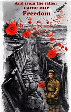 Poppoes ♥ Lest We Forget Remembrance Day Usa, Remembrance Tattoos, Lest We Forget Tattoo, Ww1 Art, War Tattoo, Remember The Fallen, Armistice Day, Poppies Tattoo, Flanders Field