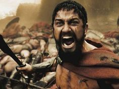300.  One bad ass movie!