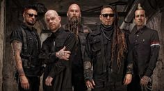 Boys, take a page out of there book, Five Finger Death Punch know how to do their hair.