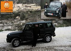 Not only the Pope in Rome has chosen a Mercedes-Benz G-Class model, but also Orthodox monks of Mount Athos Greece. Our costumer Theodoros Mitrofanis Paliouras from the Atos monastery was very happy that OVICARS has delivered the ordered dark green Mercedes-Benz G-320-CDI model very uncomplicated and fast. We are sure this car will have a long happy life on the Greek peninsula, on which no women are allowed.  #ovicars #export